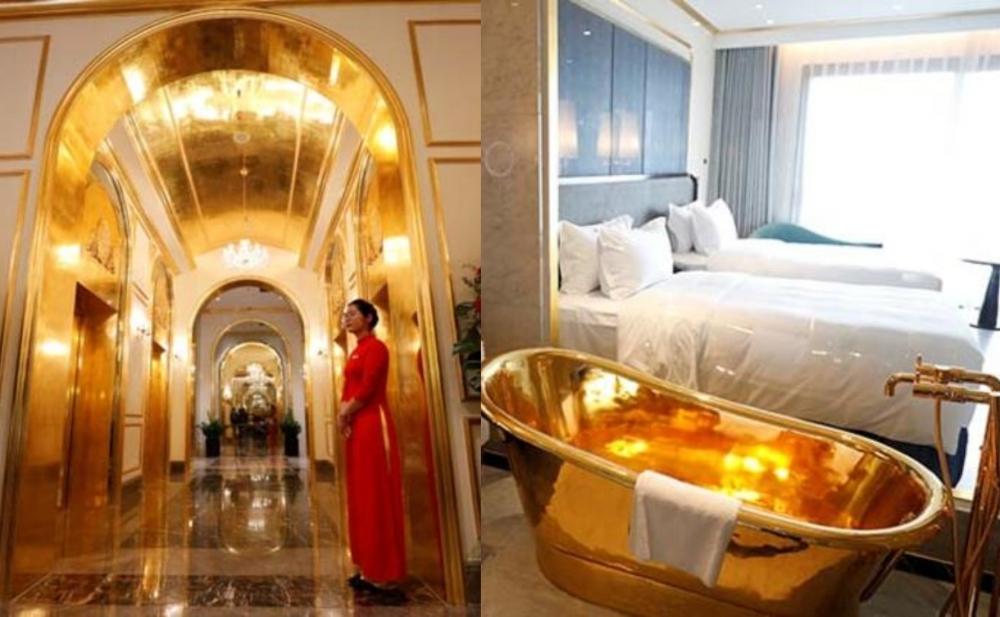 Qızıl otelin bir günlük ödənişi 425 manatdır - Fotolar