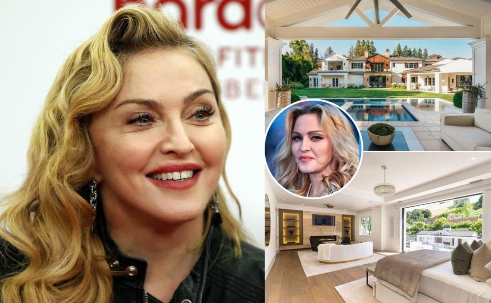 Madonnanın 32 milyonluq malikanəsindən fotolar