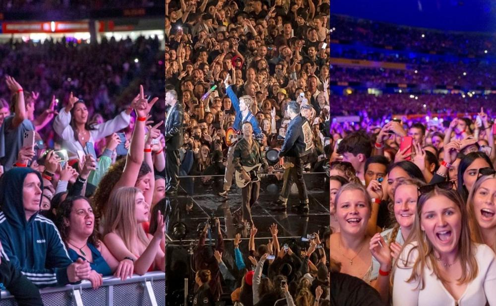 Dünya karantindədir, onlar isə 50 min nəfərlik konsert etdi - Fotolar