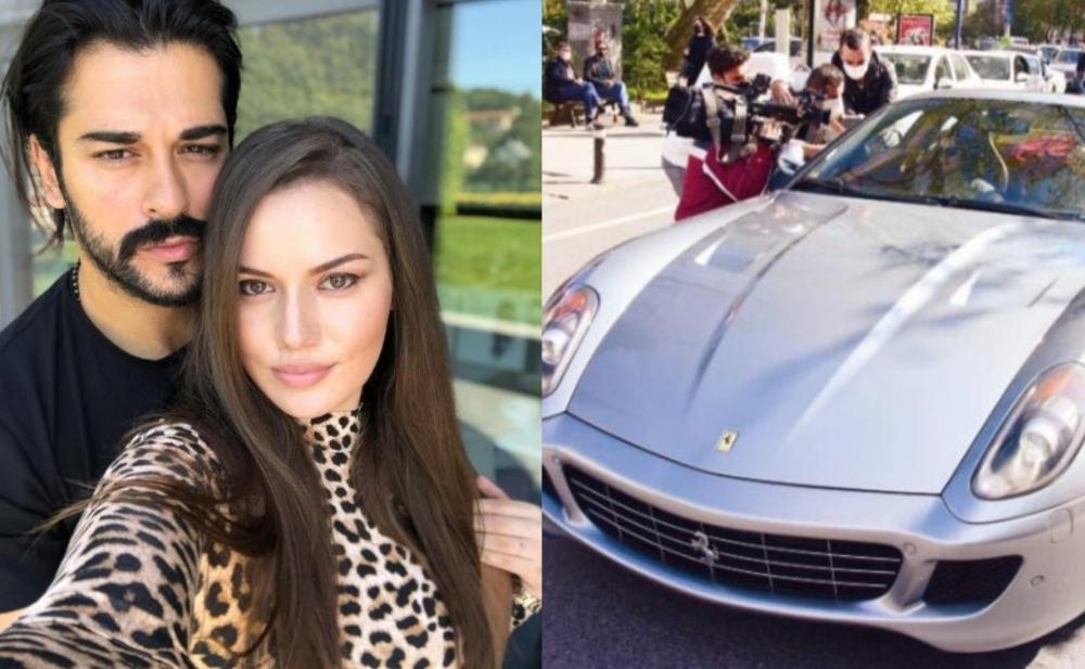 """Burak Özçivit 2 milyona """"Ferrari"""" aldı - Fotolar"""