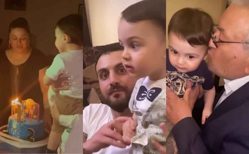 Natavan və Dadonun oğlunun ad günündən - Video