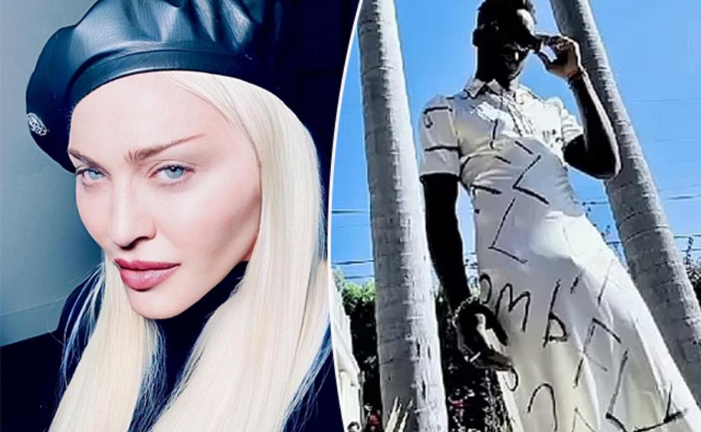 Madonnanın 15 yaşlı oğlu qadın geyimində - Fotolar