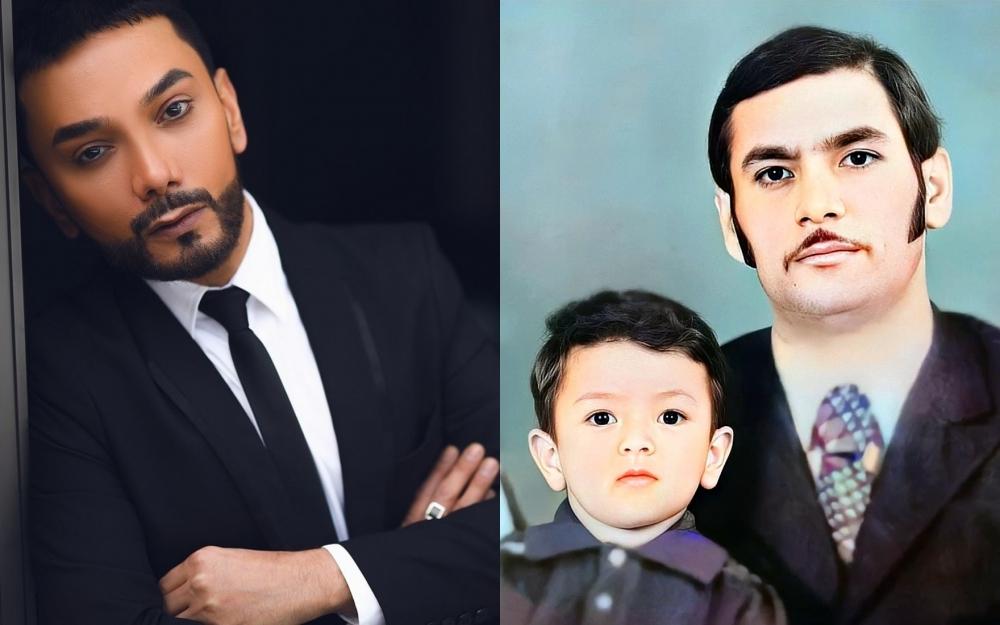 Faiq Ağayev arxiv fotosunu paylaşdı