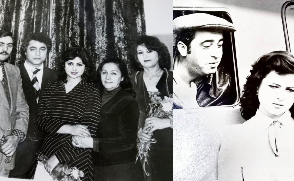 Firəngiz Mütəllimova onların arxiv fotolarını paylaşdı