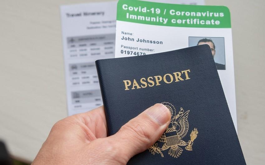 Hava nəqliyyatında COVID-19 pasportu tələb olunacaq