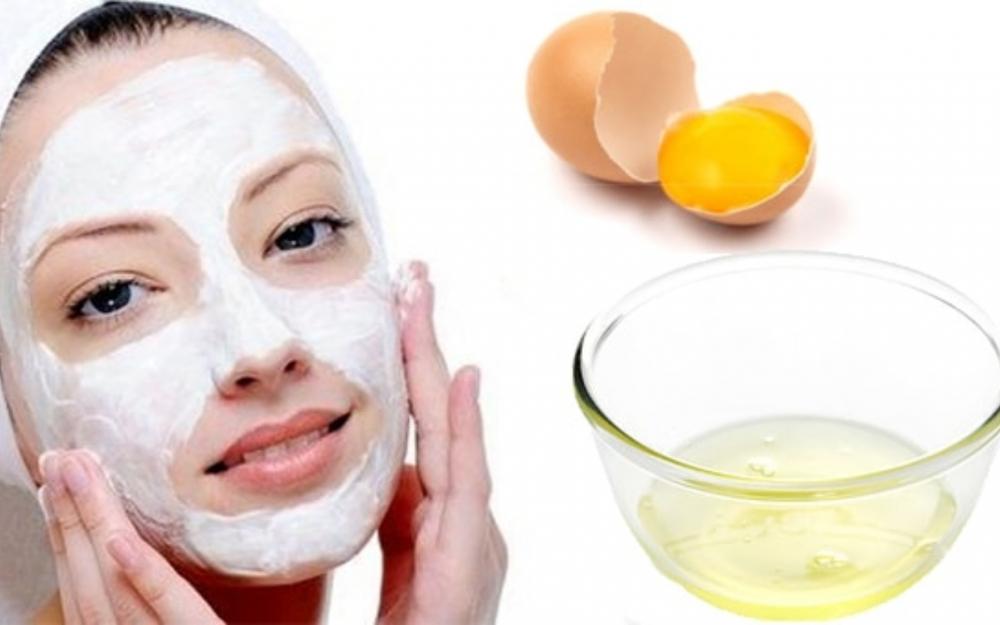 Yumurta ilə qırışlardan xilas olun