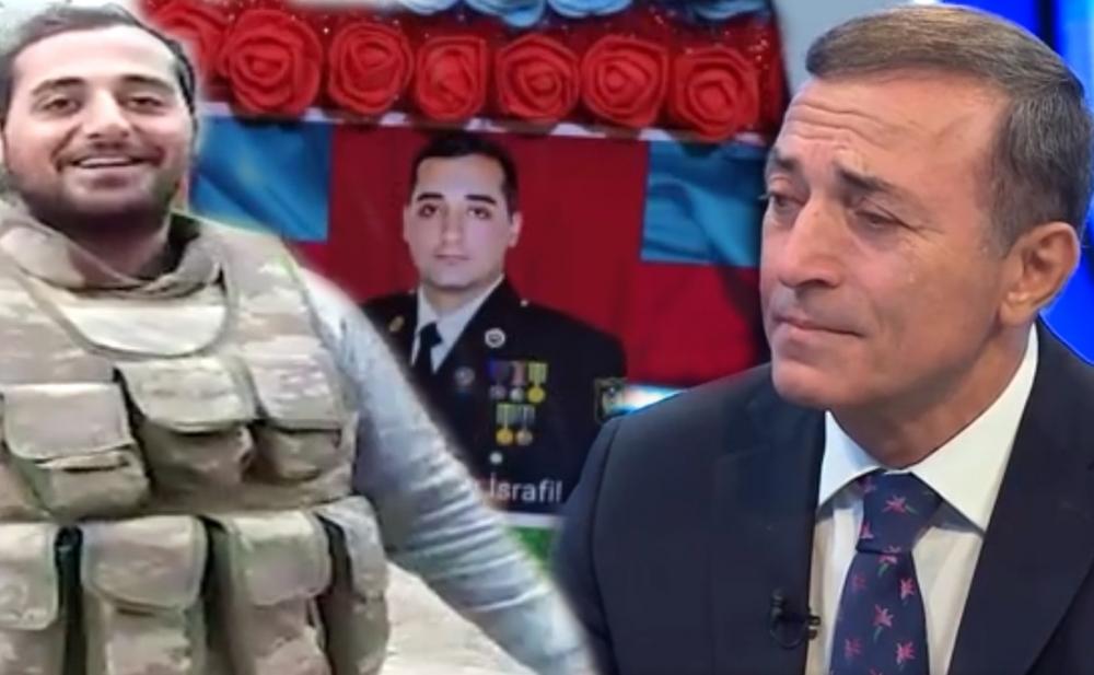 Xalq artisti şəhid qardaşı oğlundan danışıb ağladı - Video