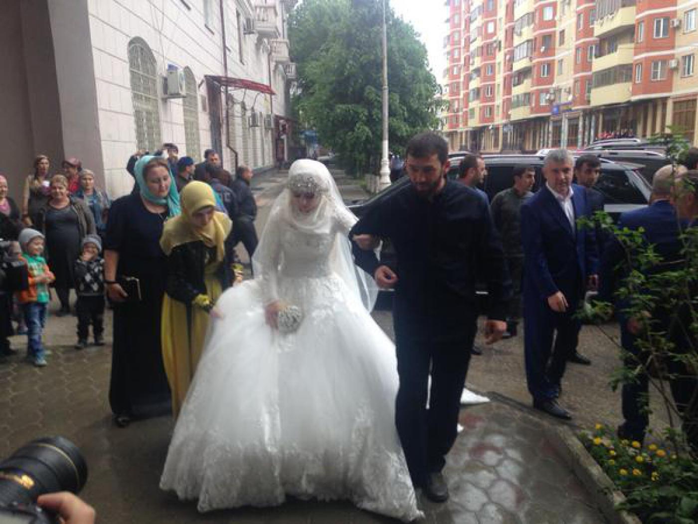 Свадьба 17 летней фото